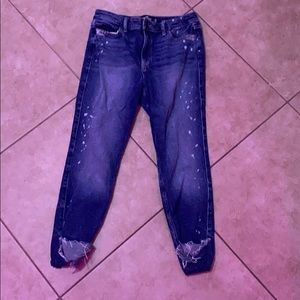 Hollister High Rise Cropped Jeggings Size 7S